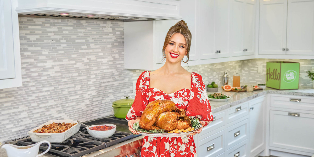 Jessica Alba planned your Thanksgiving menu so you don't have to