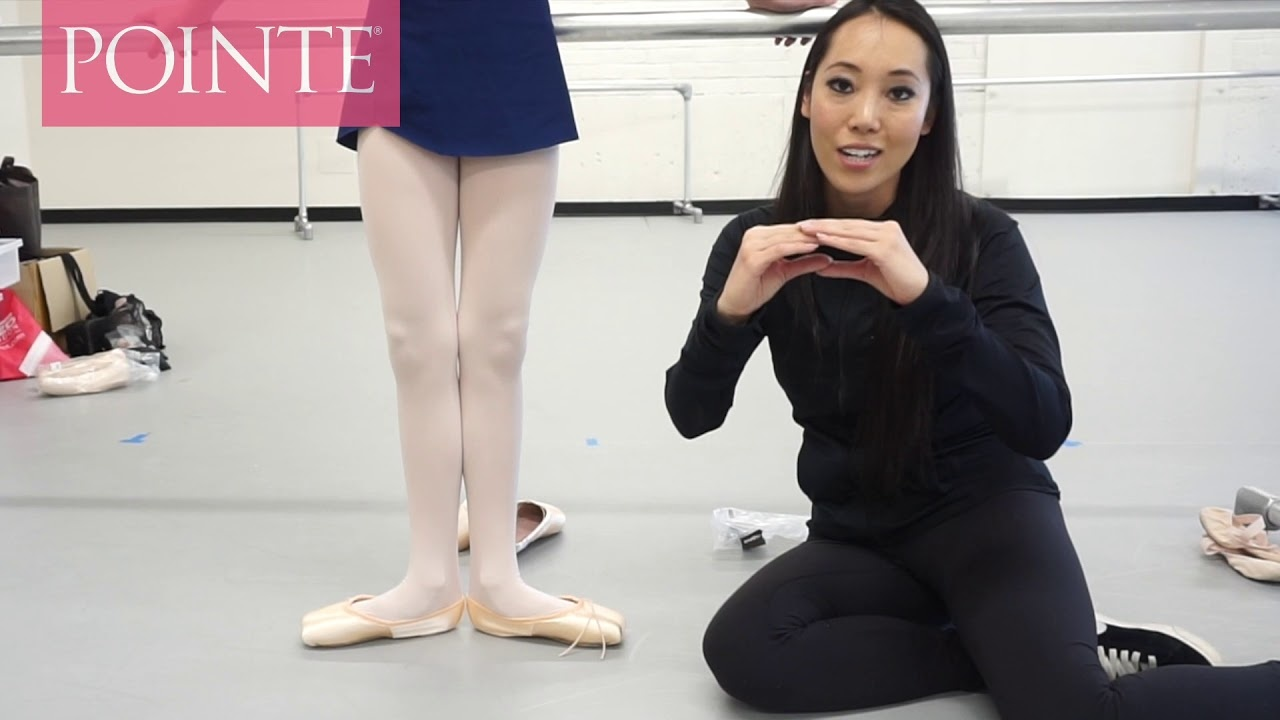 Pointe Shoe Fitting Tips for First Timers