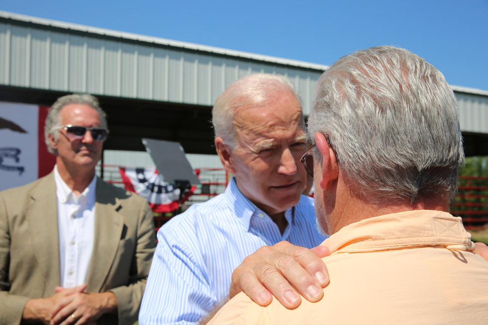 Partner Content - Ryan: Biden at the empty fairgrounds
