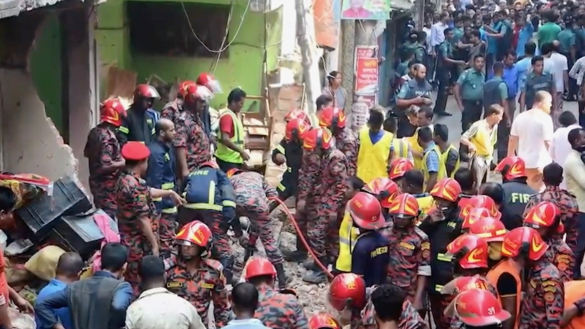 Pipeline Explosion Kills 7 Injures 25 in Bangladesh