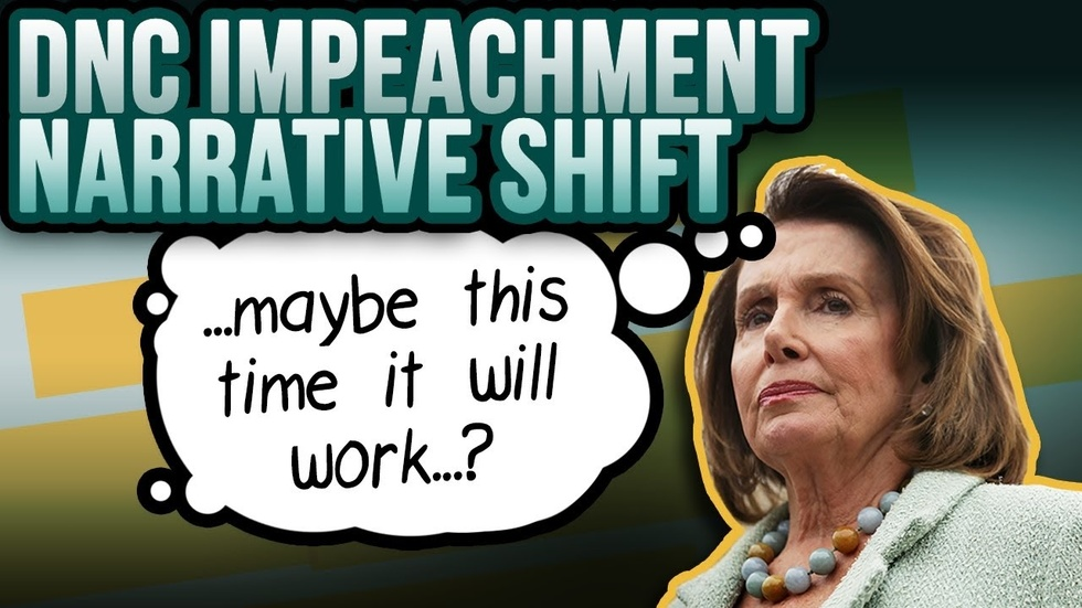 Partner Content - Impeachment push: Pelosi & Democrats change from Trump quid pro quo to b...