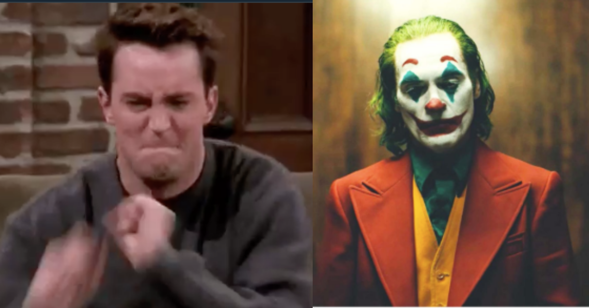 Matthew Perry Finds Uncanny Parallel Between Chandler And The Joker, And Now It's All Anyone Can See
