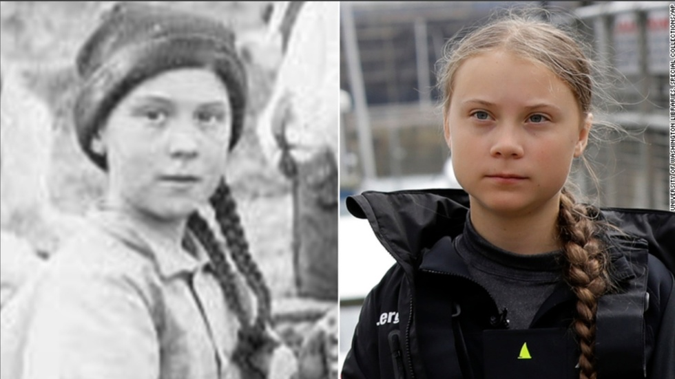 Partner Content - Stunning evidence Greta Thunberg is a time traveler