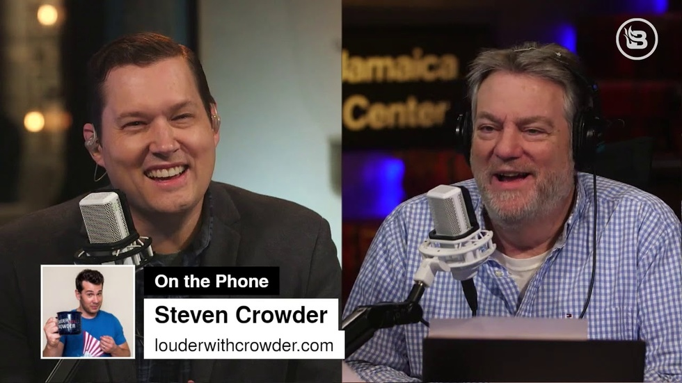 Partner Content - Steven Crowder is betting his life Epstein didn't kill himself