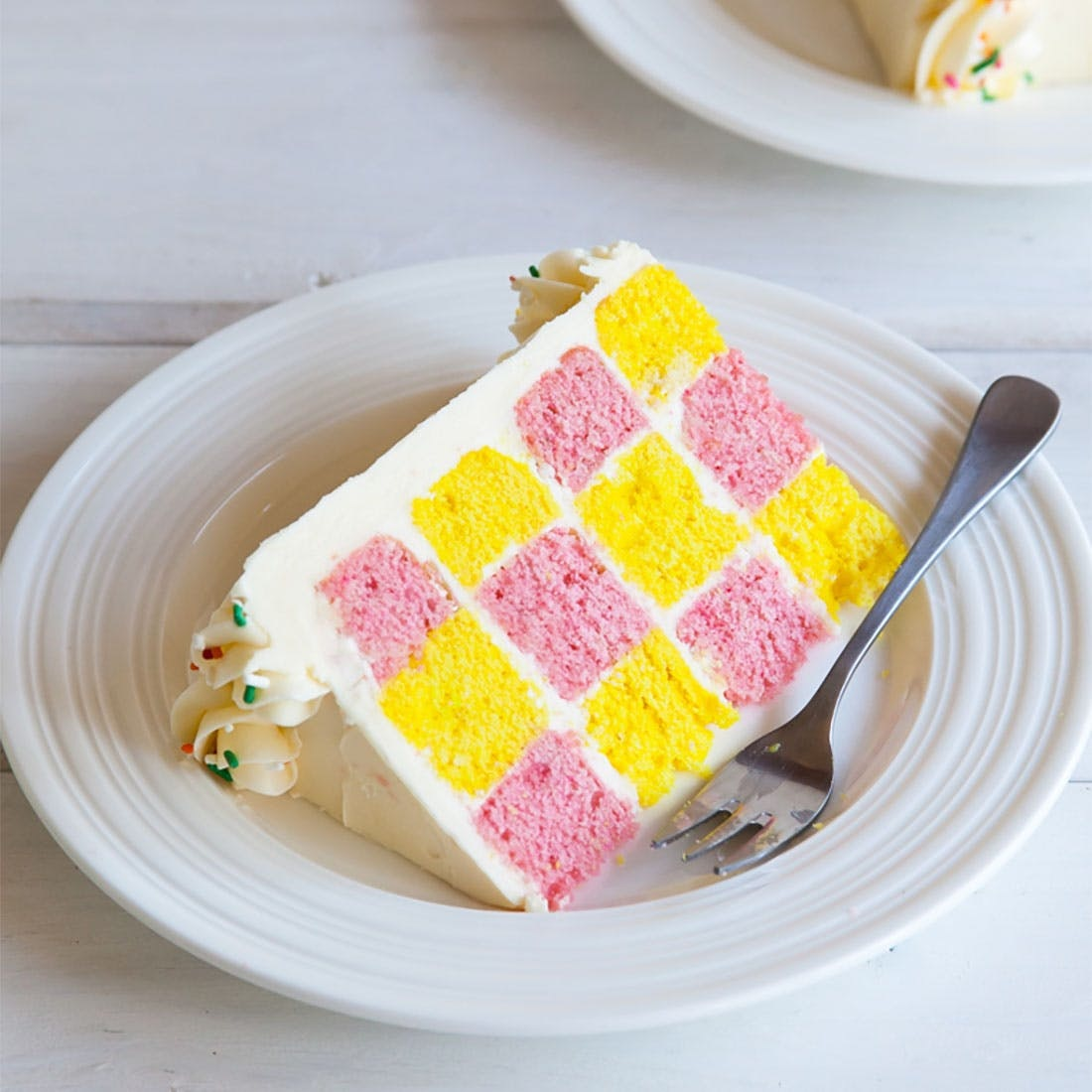 How To Make A Checkerboard Cake That Will Blow Your Guests Minds Brit Co