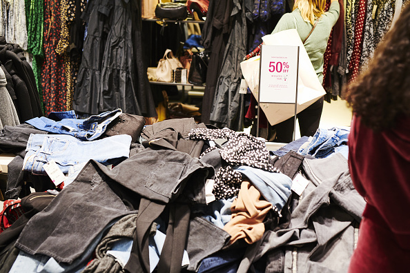Fashion contributes to 10 percent of humanity s carbon emissions