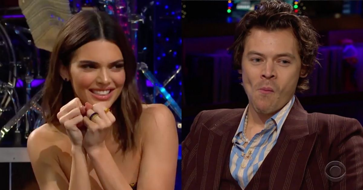 Harry Styles Opts To Eat Fish Sperm Rather Than Answer An Awkward Question From Kendall Jenner