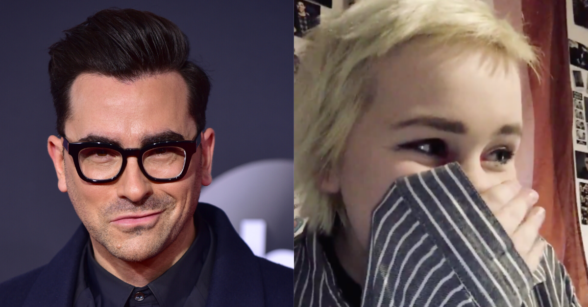 'Schitt's Creek' Star Dan Levy Left In Tears By Fan's Emotional Coming Out Video