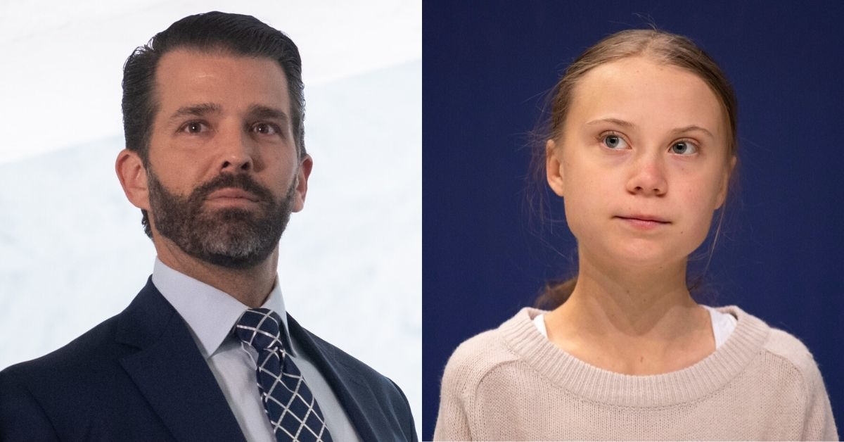 Don Jr. Is Getting Dragged After Raging On Twitter About TIME Naming Greta Thunberg Their 'Person Of The Year'