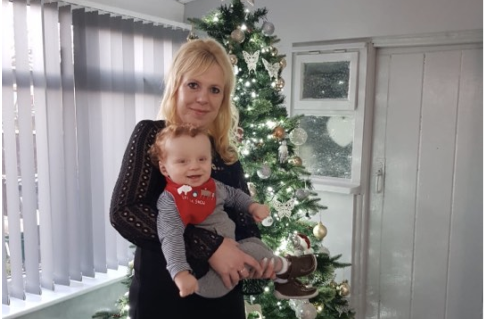 Parents Hoping For Better Christmas This Year After One-Day Old Son Faced Major Surgery A Year Ago