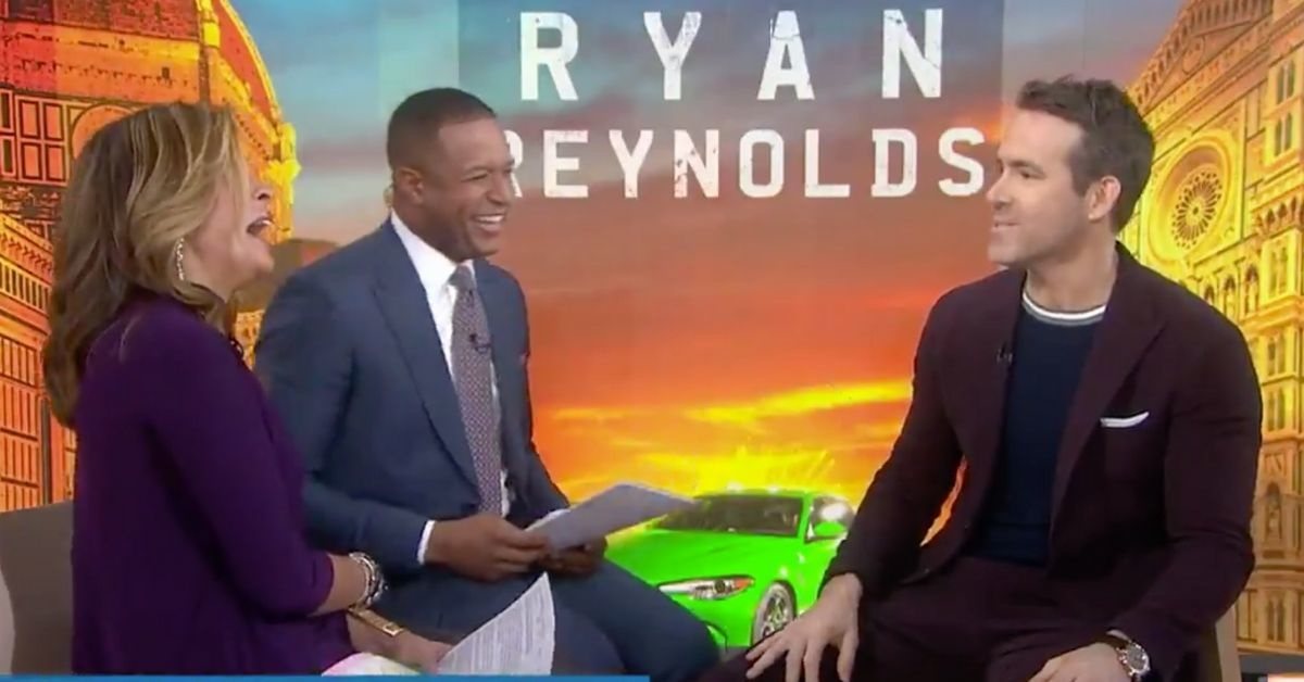 The 'Today' Hosts Asked Ryan Reynolds About His Newborn Baby's Name, And He Couldn't Help But Troll Them