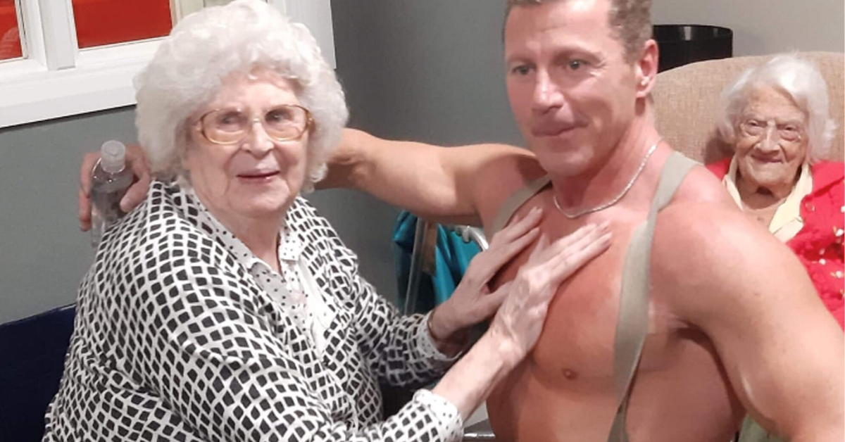 89-Year-Old Woman 'Loved Every Second' Of Stripper's Visit To Her Home Care Facility
