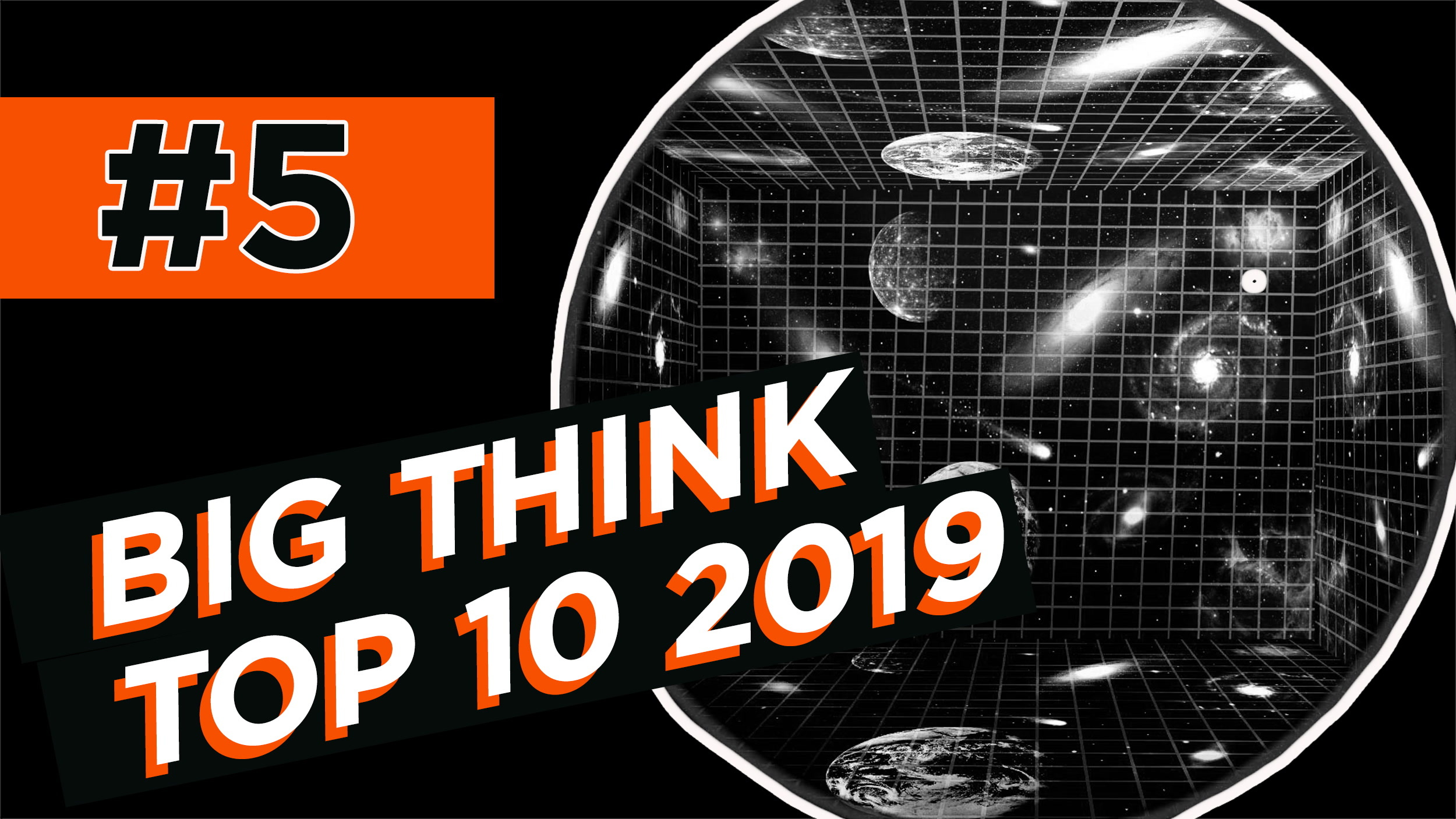 #5: Is the universe a hologram? The strange physics of black holes | Top 10 2019