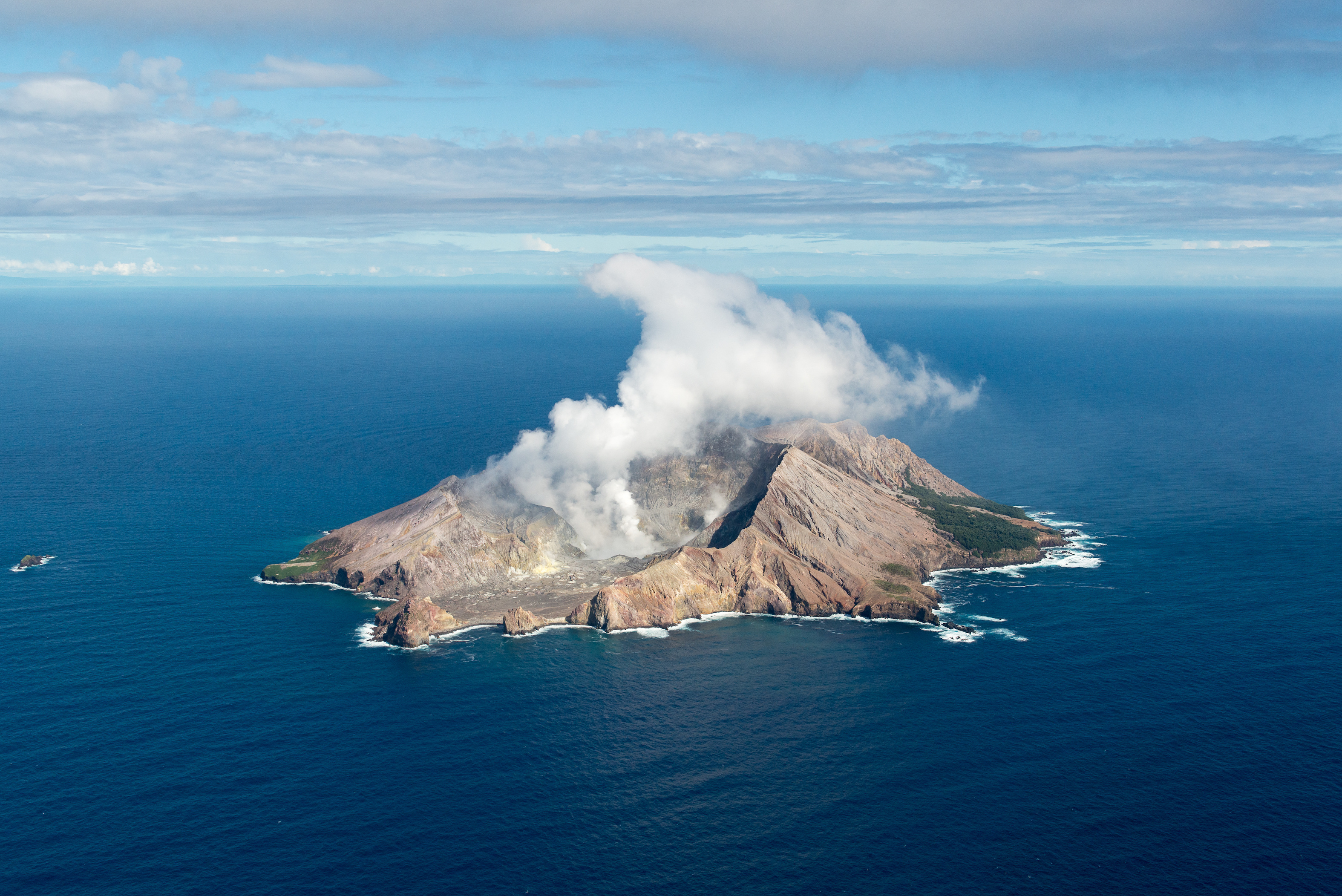 How long will a volcanic island live?