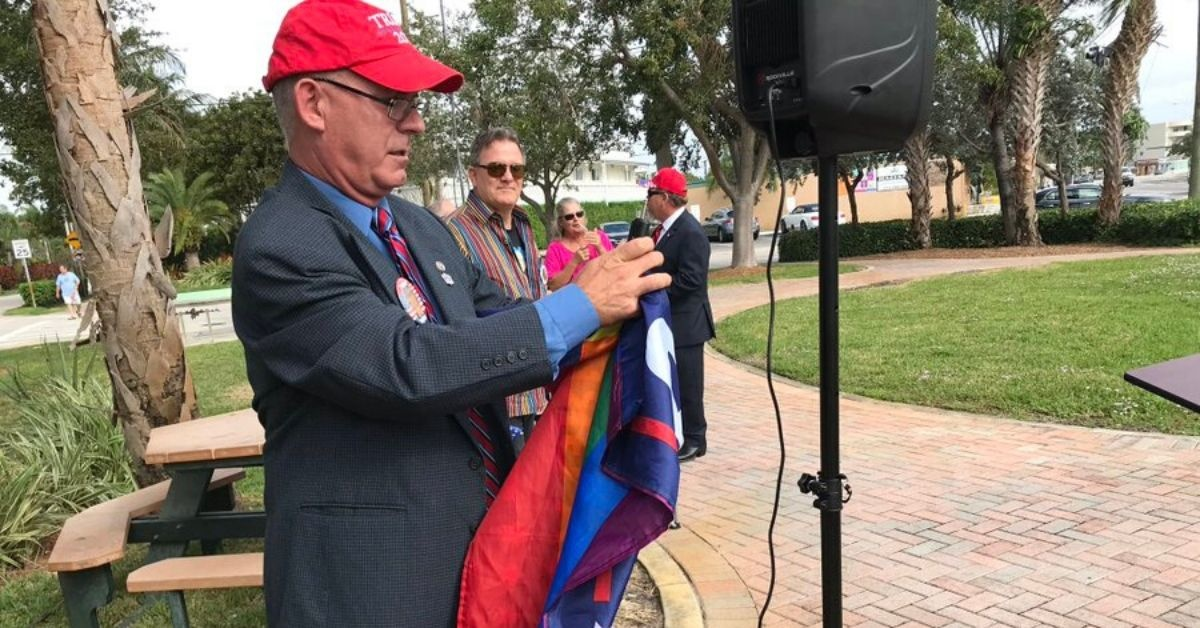 Pro-Trump Gay Republicans Held A Rally In Florida—And It Was A Complete Disaster