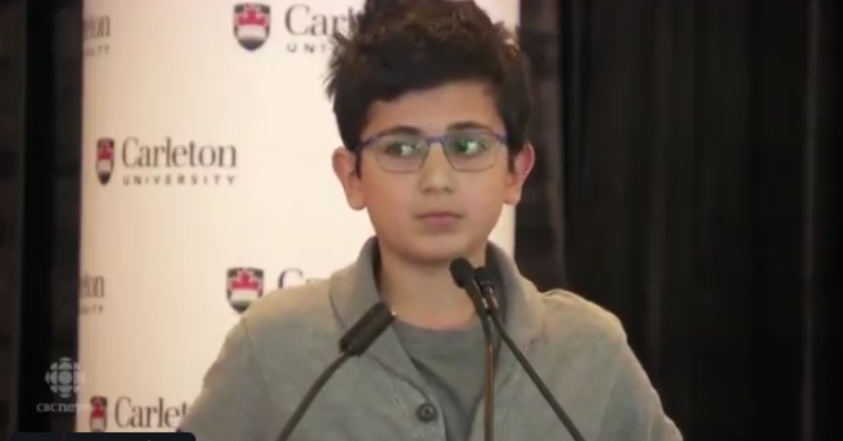 13-Year-Old Boy Brings Mourners To Tears With Powerful Speech About His Dad Who Was Killed In Iranian Plane Crash
