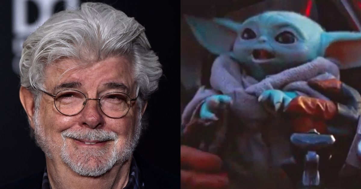 George Lucas Just Met Baby Yoda And Cradled Him Gently In His Arms To The Utter Delight Of Fans