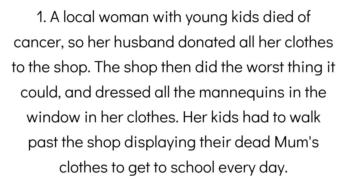 Thrift Store Employees Share The Saddest Things People Have Ever Donated