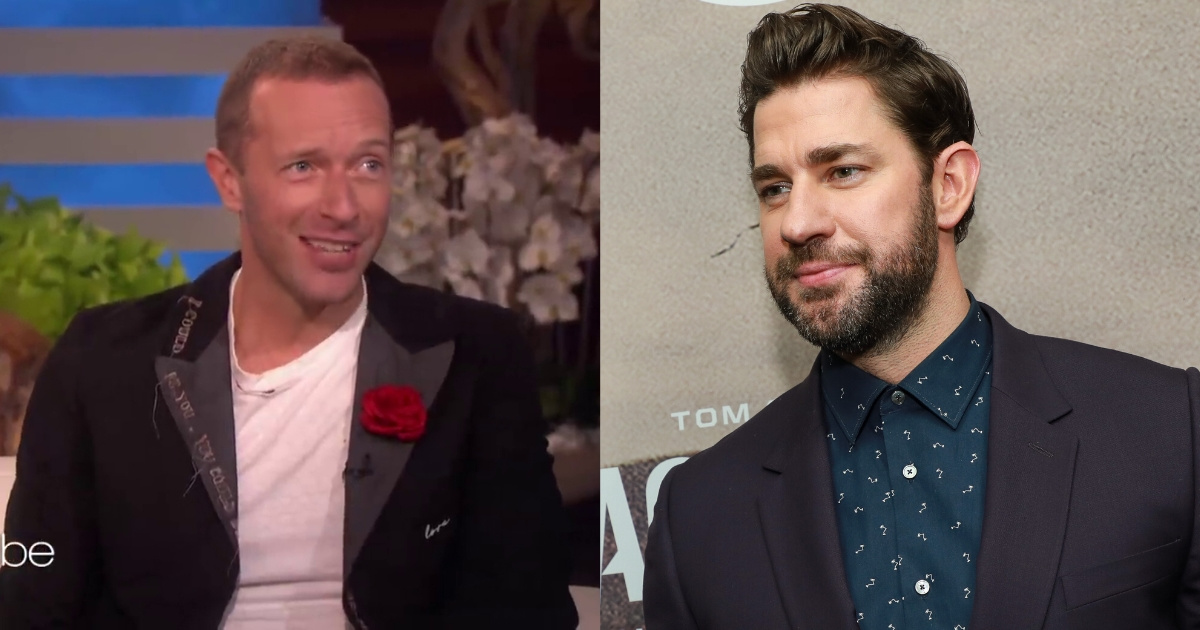 Coldplay's Chris Martin Told Ellen About His Funny Idea For 'A Quiet Place'—And John Krasinski's Response Just Made It Even Better