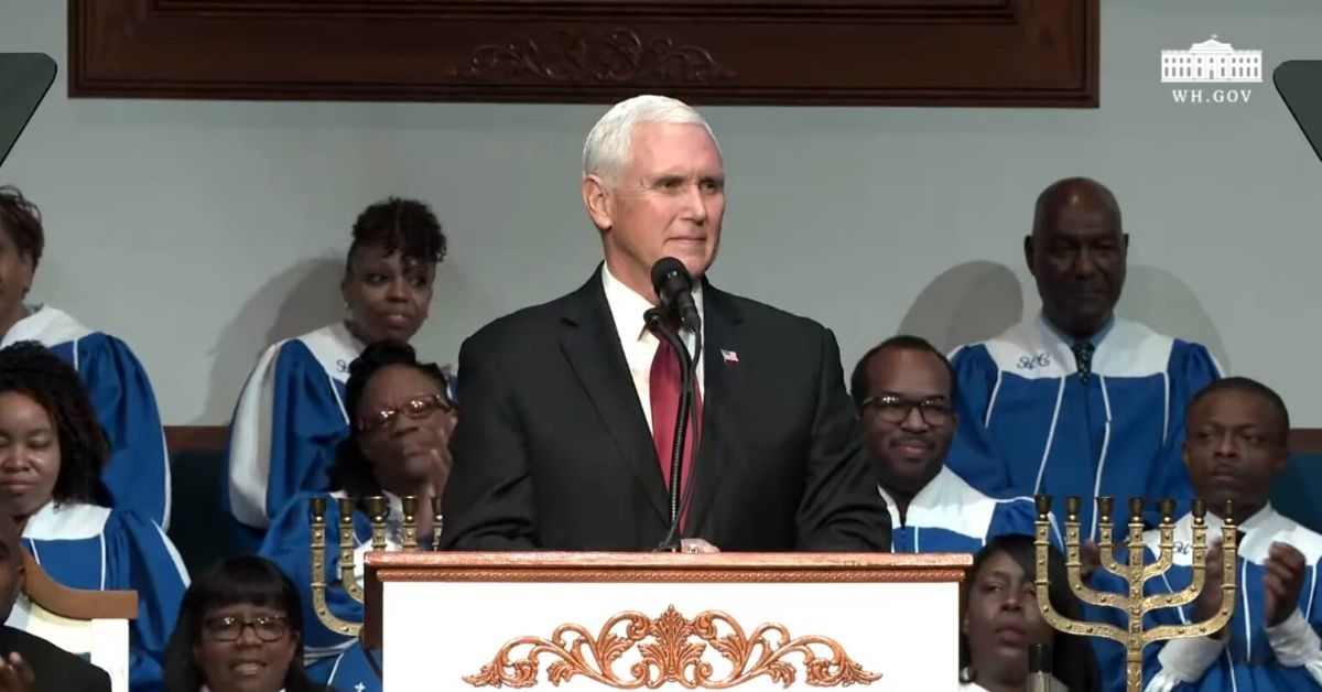 The White House Streamed A Homophobic Sermon At A Mike Pence Event Claiming Gay People Are Possessed By Demons