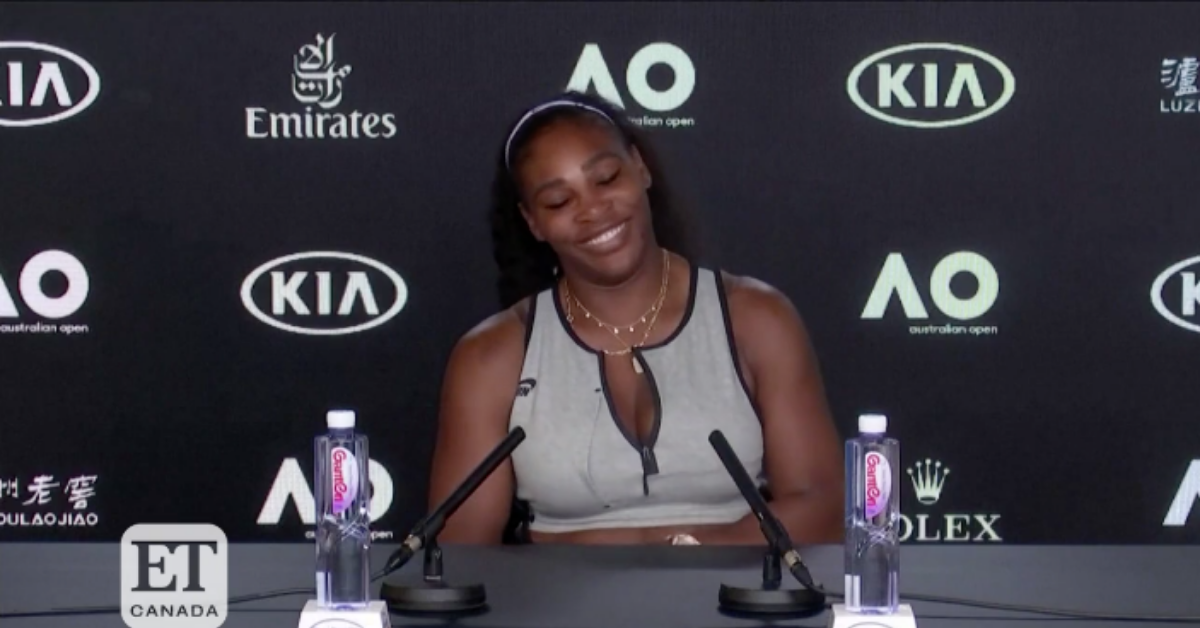 Serena Williams Totally Shut Down A Reporter's Questions About Meghan Markle Like The Queen She Is
