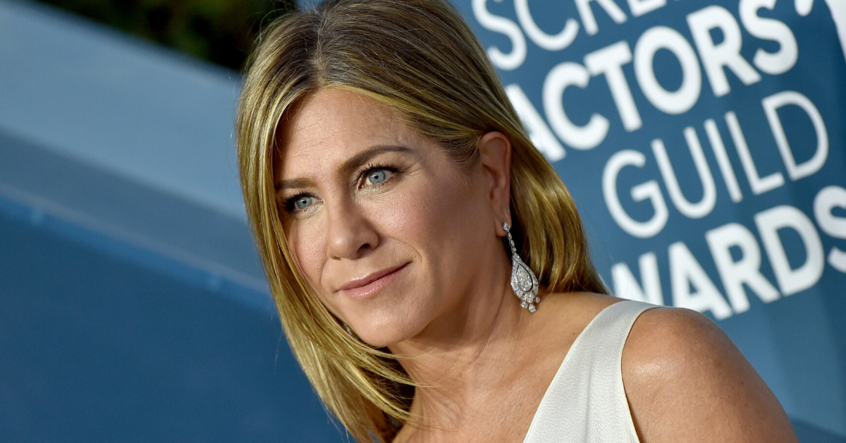 Jennifer Aniston Shows Fans Just How Far She Went To Keep Her SAG Awards Dress Wrinkle-Free