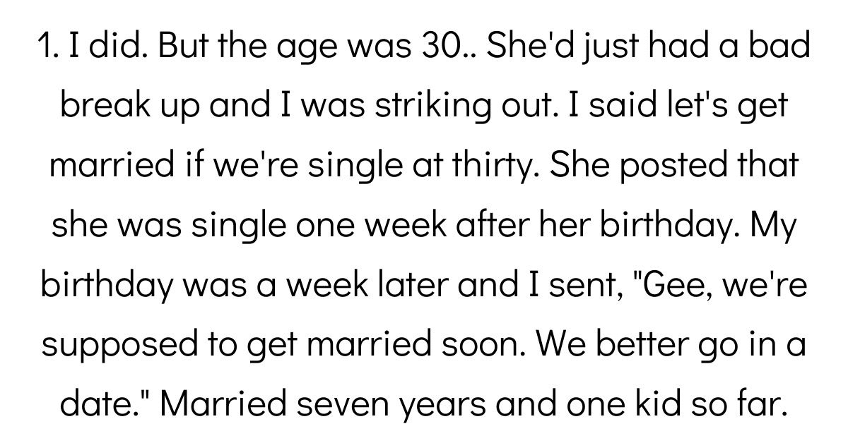 People Who Have Actually Gone Through With A Marriage Pact Share Their Story