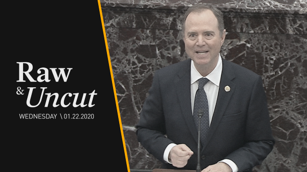 Lead Impeachment Manager Rep. Adam Schiff (D-CA) argues President Trump withheld military aid to Ukraine due to his own personal agenda