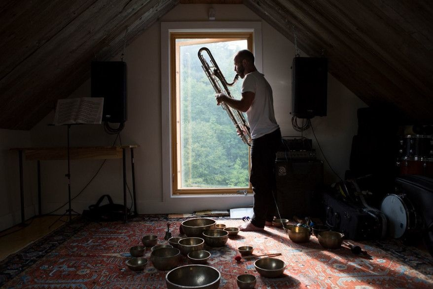 Colin Stetson Goes to the Movies with Loud, Garish  Color Out of Space