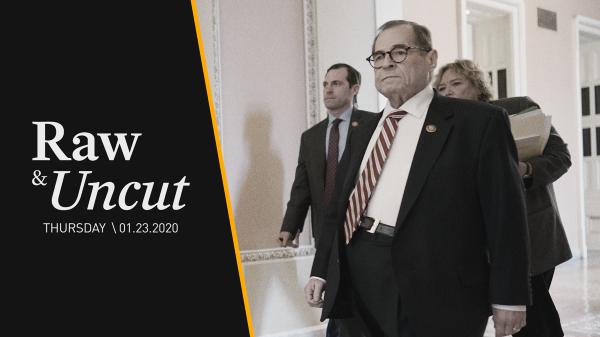 Impeachment Manager Jerry Nadler (D-NY) calls back to Sen. Lindsey Graham's (R-SC) 1999 testimony to discredit the need for a high crime in presidential impeachment