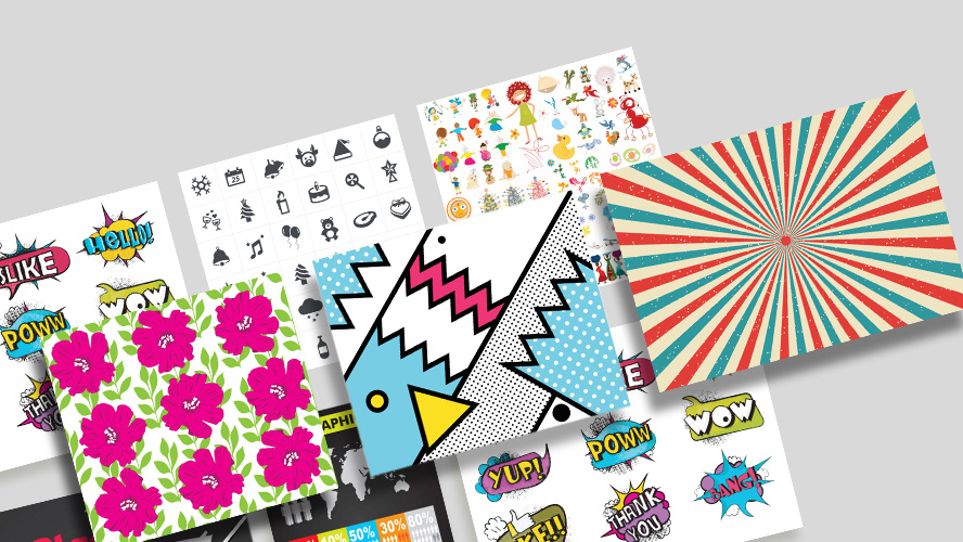 For under $40, you can get over 1 million royalty-free vector graphics to use for life
