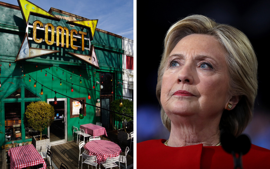 People Still Believe Hillary Clinton Was Running a Child Sex Ring Out of a Pizza Parlor--Here's Why