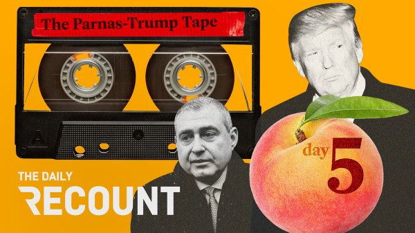 Trump Team Begins Defense \ The Parnas-Trump Tape \ Free Lunch. Republicans' defense takes shape, while Lev Parnas hands over a damning Trump tape — all in The Daily Recount: Weekend Edition.