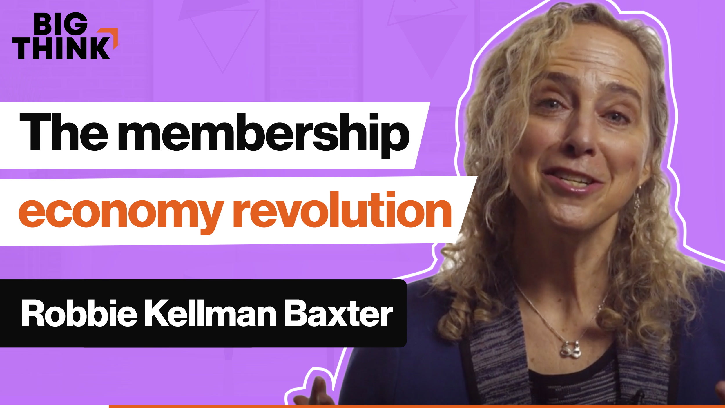 Business revolution: What is the membership economy?