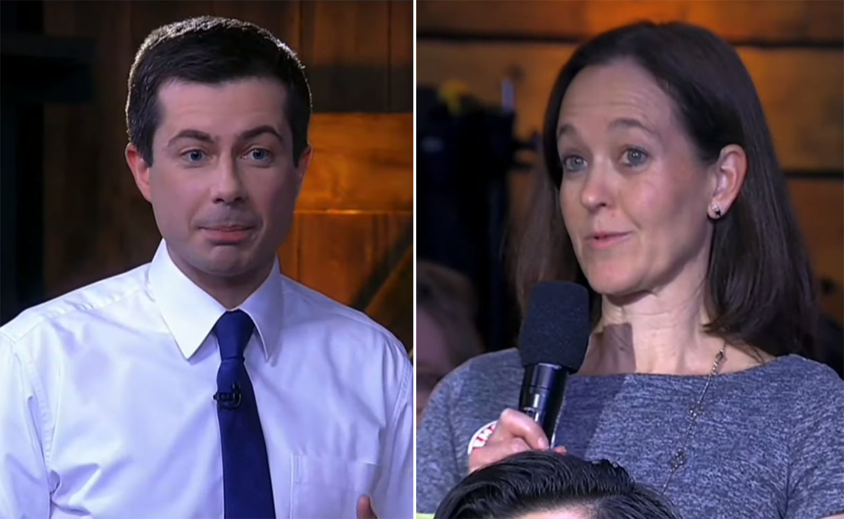 Pro-life Dem confronts Pete Buttigieg over extreme abortion position — and he refuses to include her ...