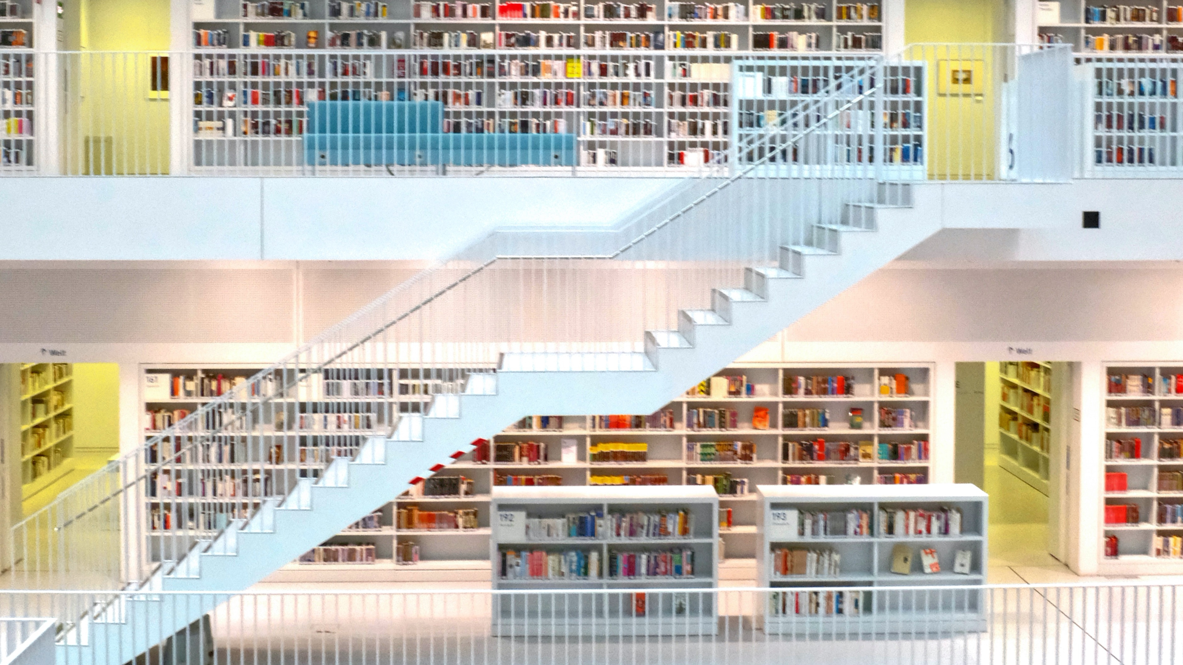 Guess what? We go to libraries more often than movies.