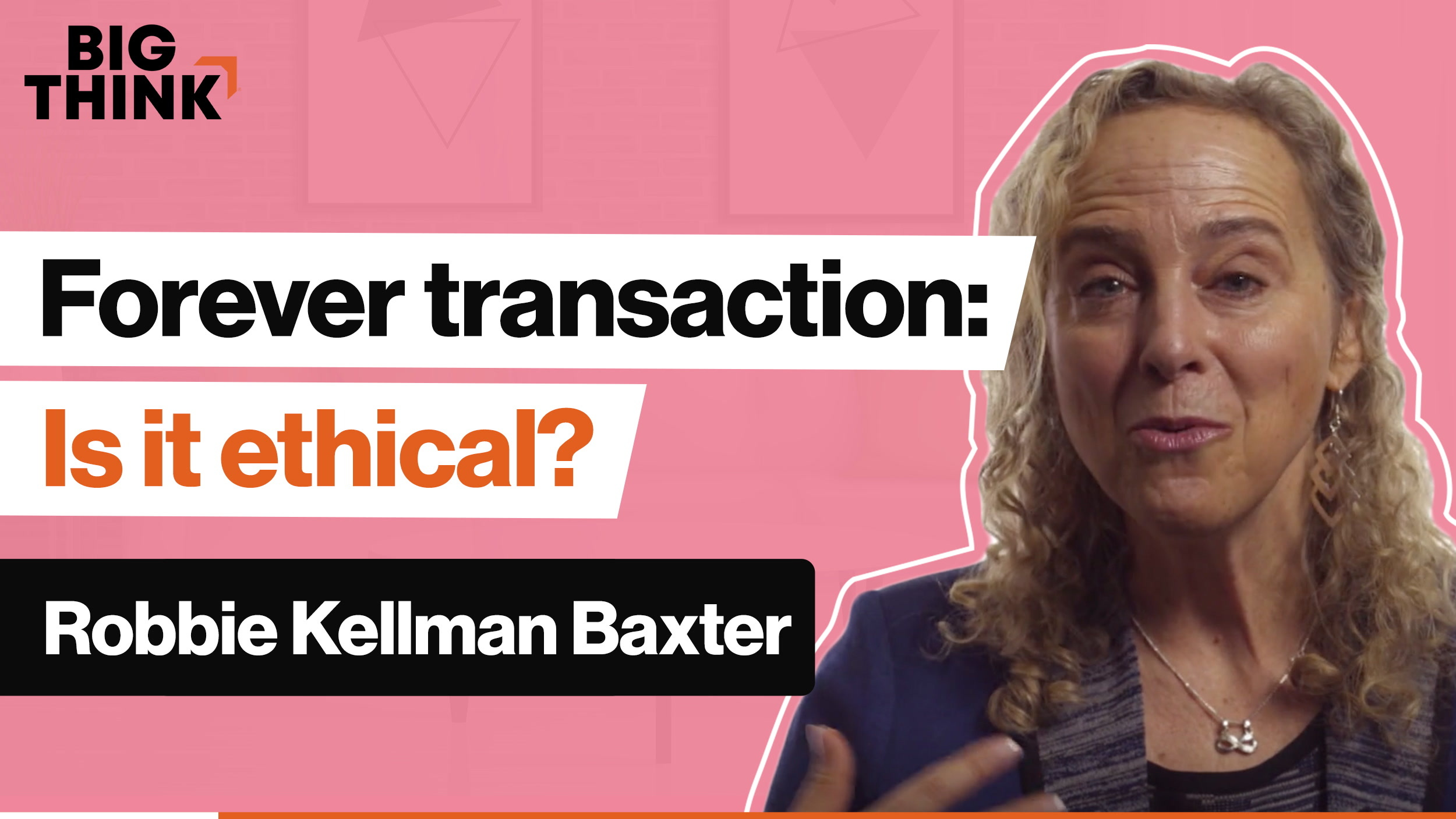 Is the 'forever transaction' business model ethical?