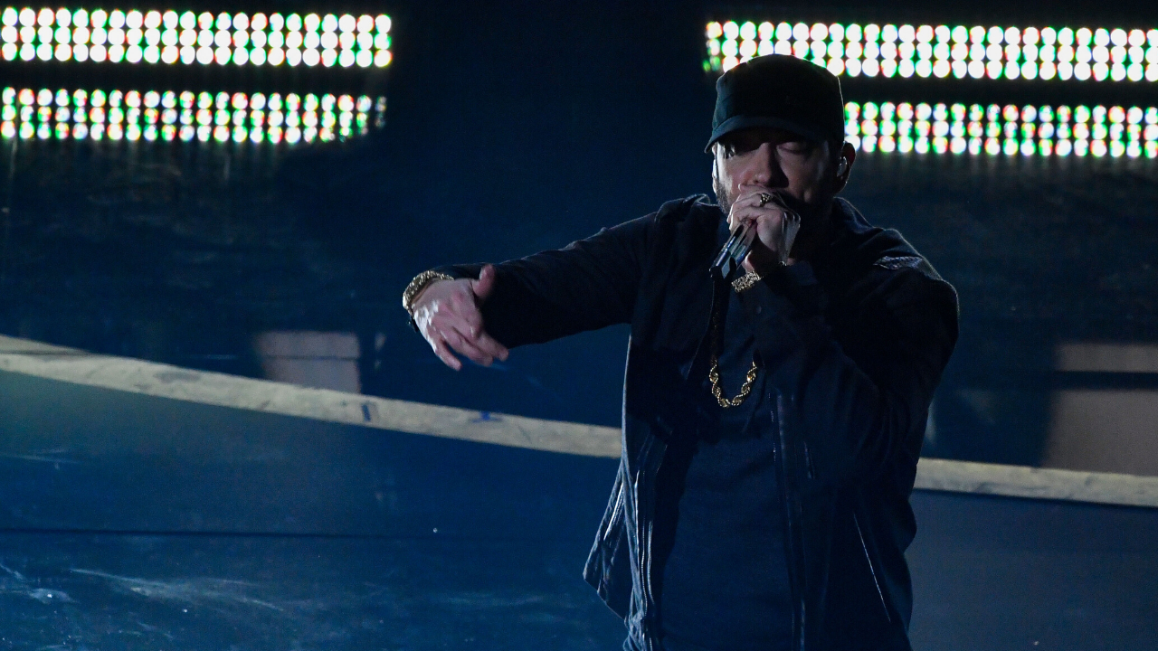 Eminem's Explanation For Why He Performed At The Oscars...Sort Of Makes Sense, We Guess
