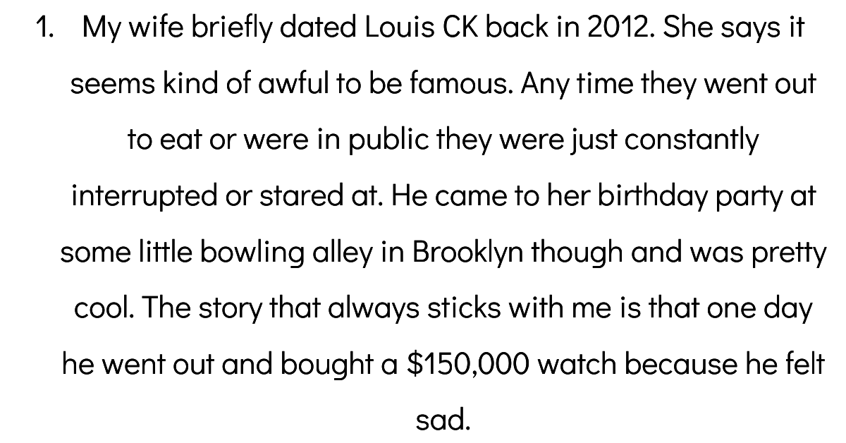 Normal People Who Have Dated A Celebrity Explain What It Was Really Like