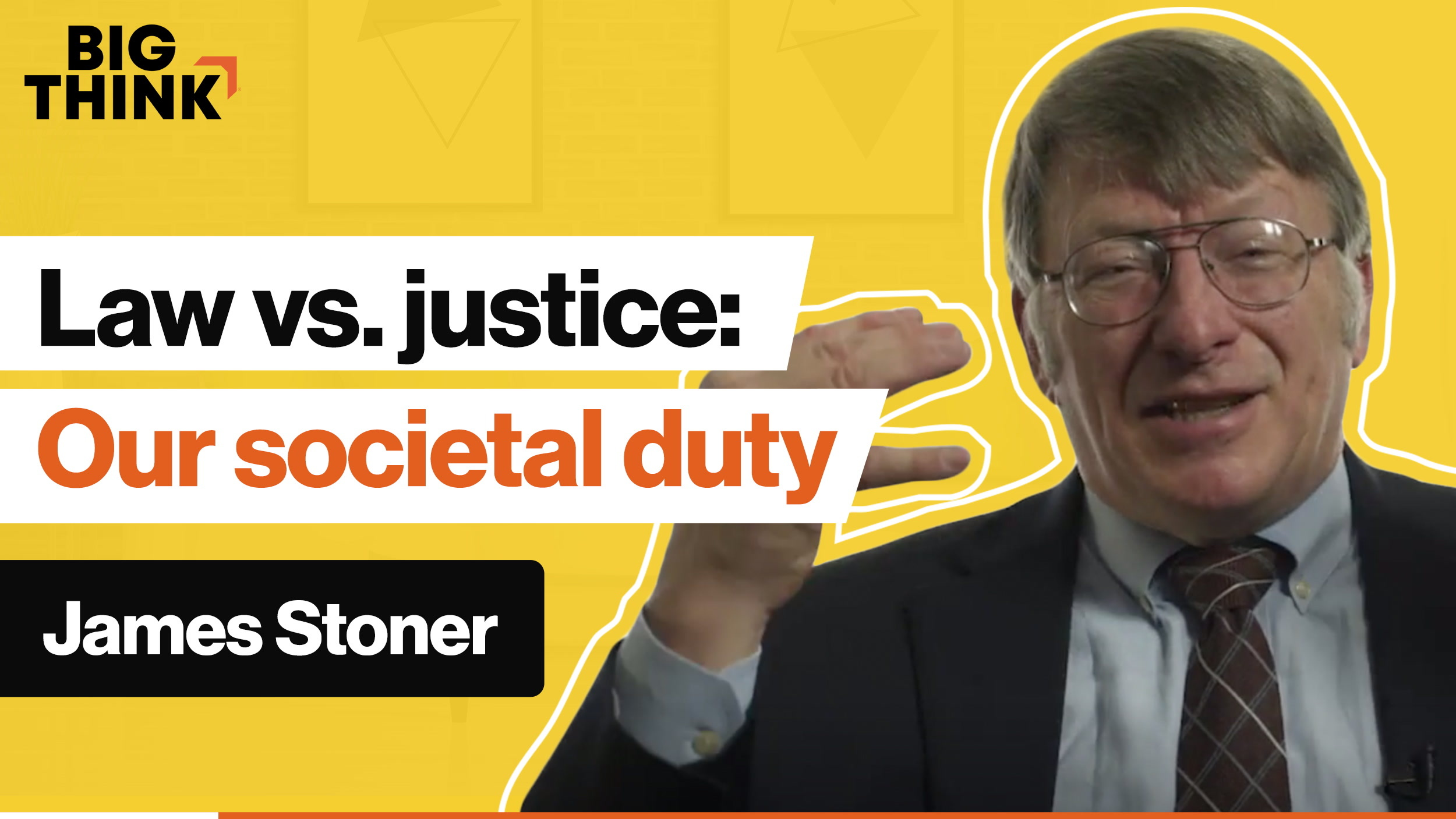 Law vs. justice: What is our duty in society?
