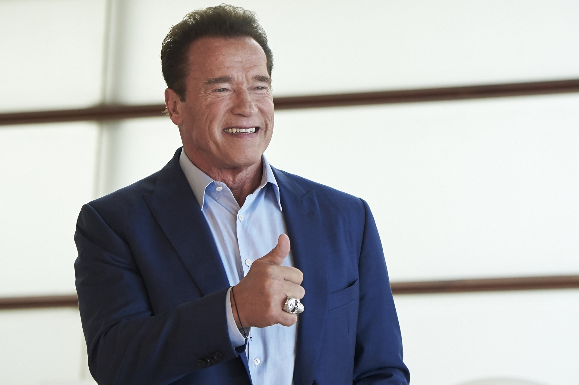 Trump critic Arnold Schwarzenegger thanks the president for addressing California homelessness