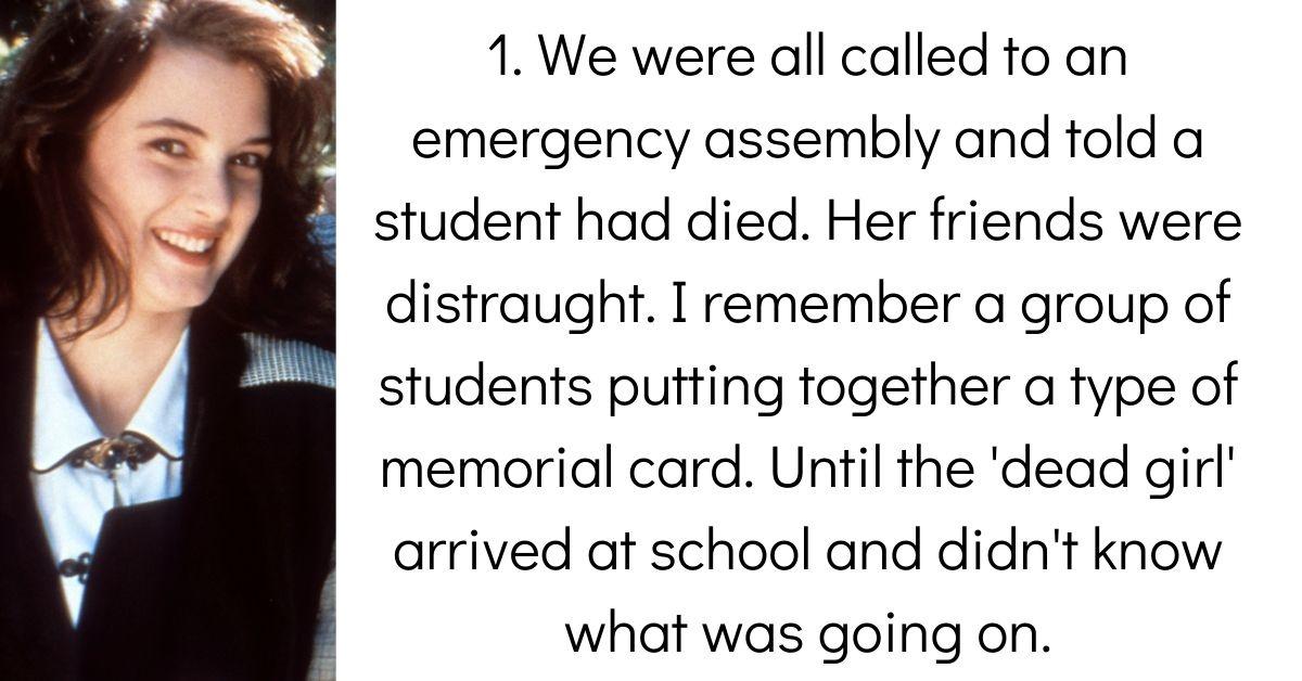 People Break Down 'The Incident' That Happened In High School