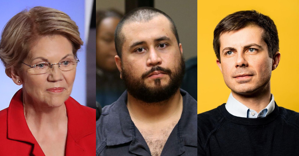 George Zimmerman Is Suing Elizabeth Warren And Pete Buttigieg Over Their Tweets Paying Tribute To Trayvon Martin