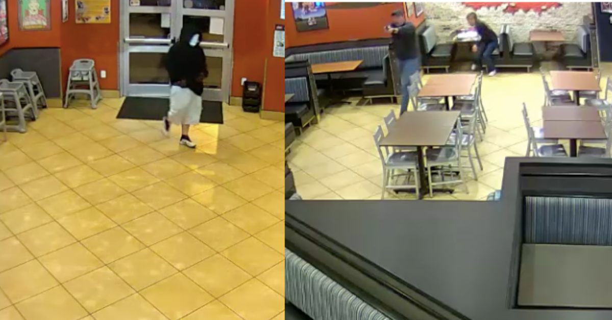 Armed Robber Chooses The Wrong Restaurant To Target, Gets Busted By Off-Duty Married Cops Out On A Date Night
