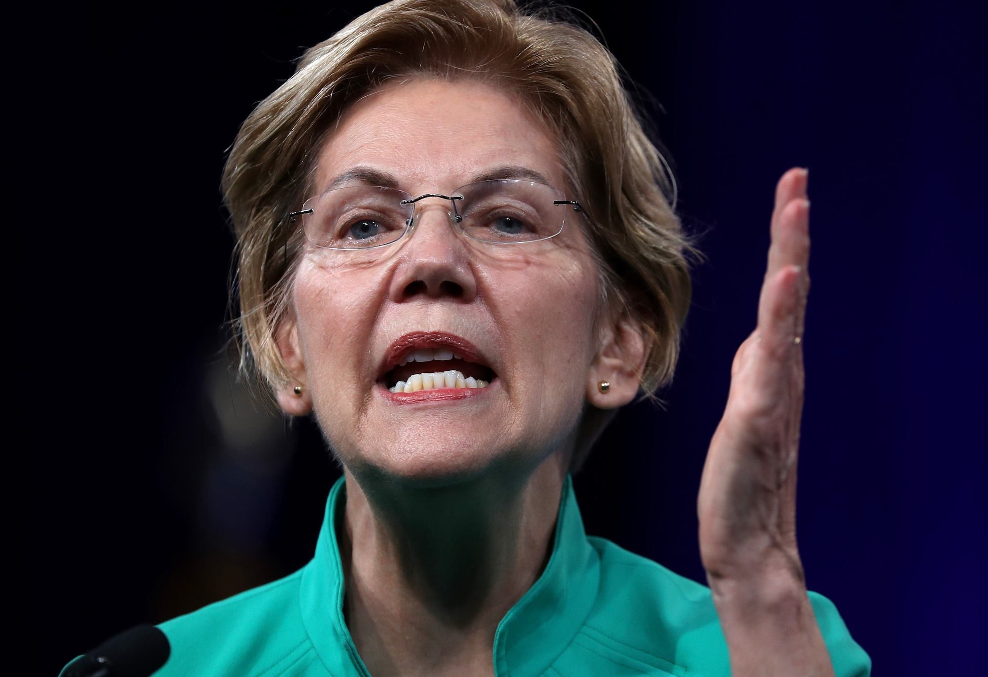 Liz Warren said she would disavow all super PAC money — but she's singing a different tune now