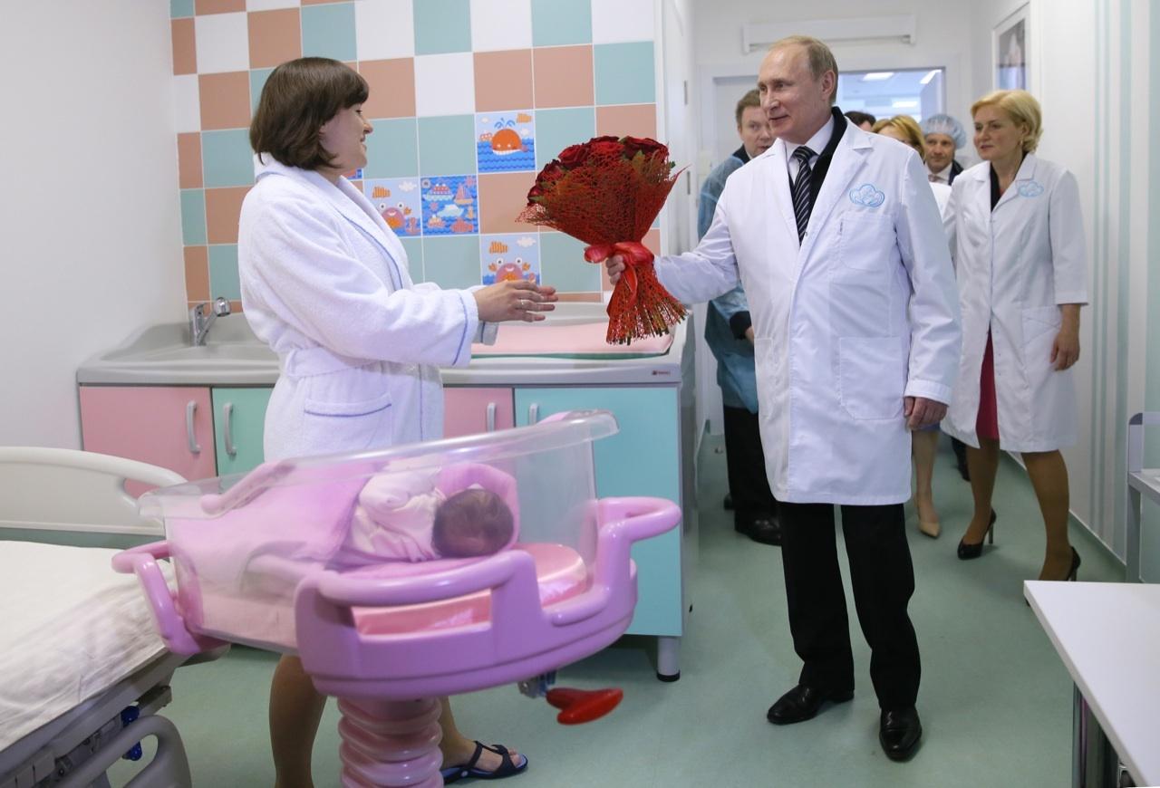 LA GRANDE MADRE RUSSIA NON FA PIÙ FIGLI