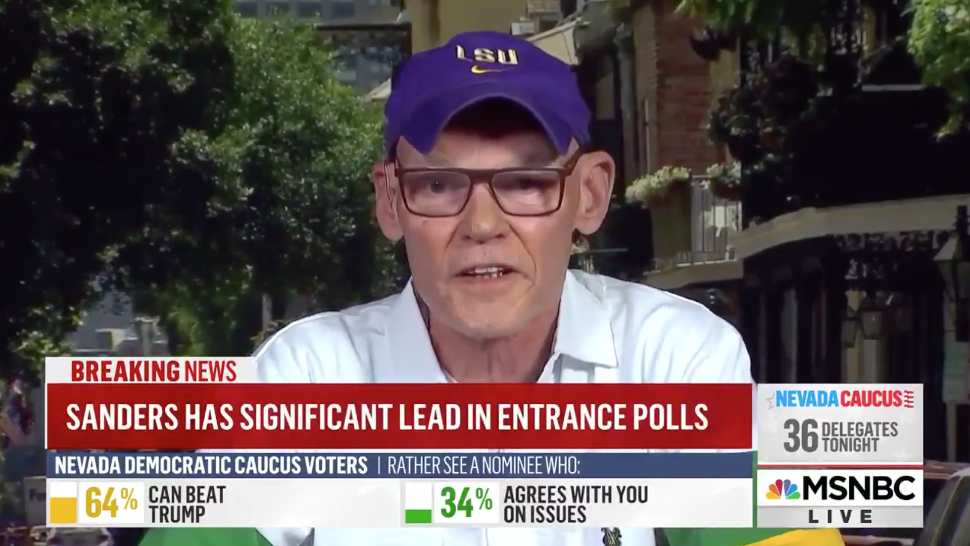 James Carville rips DNC as Bernie Sanders wins Nevada: 'One of the truly stupid parties in the world'