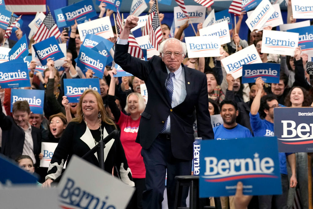 Bernie Sanders wins Nevada caucuses, cementing his status as Democratic frontrunner