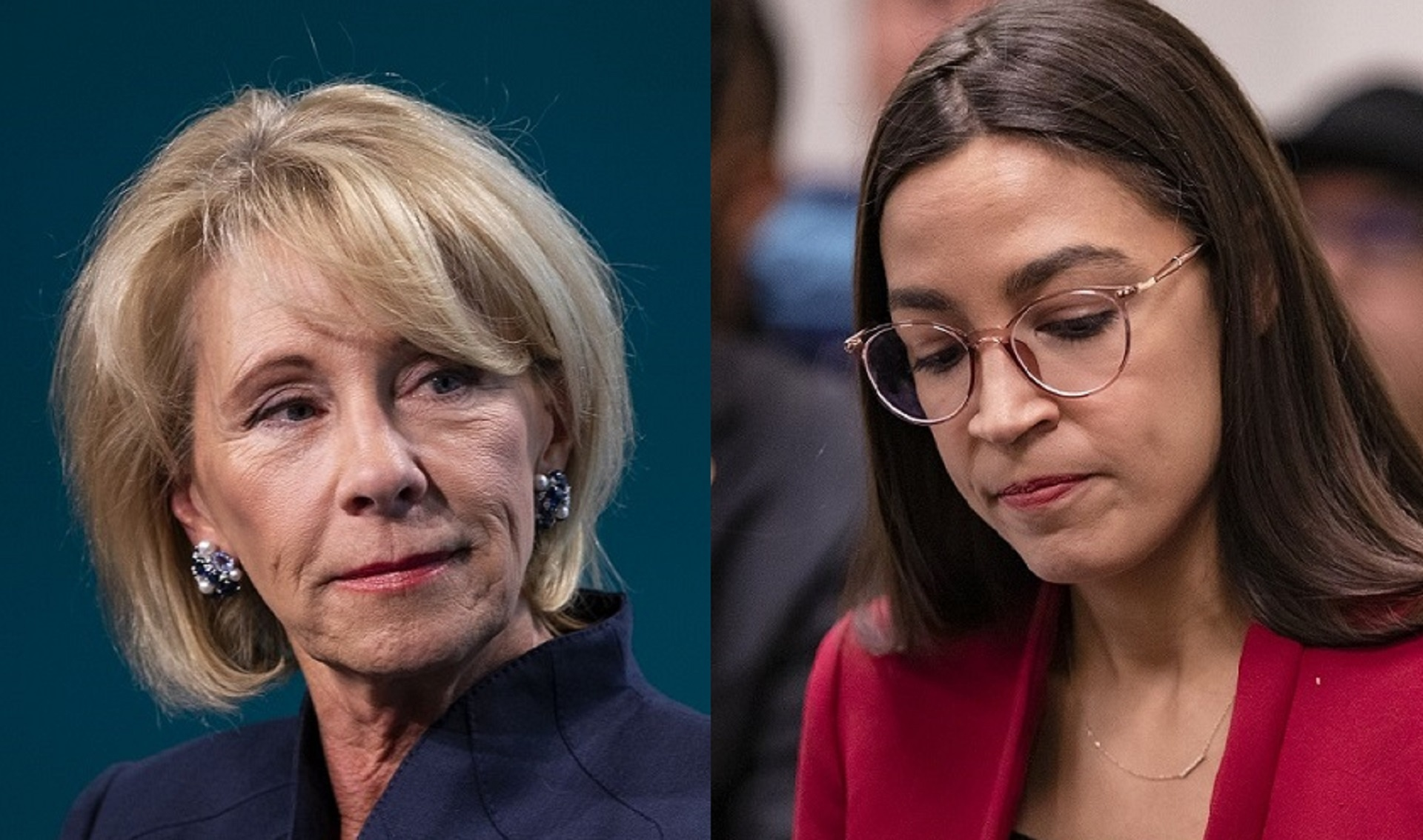 Education Secretary Betsy DeVos calls out AOC's hypocrisy on school choice