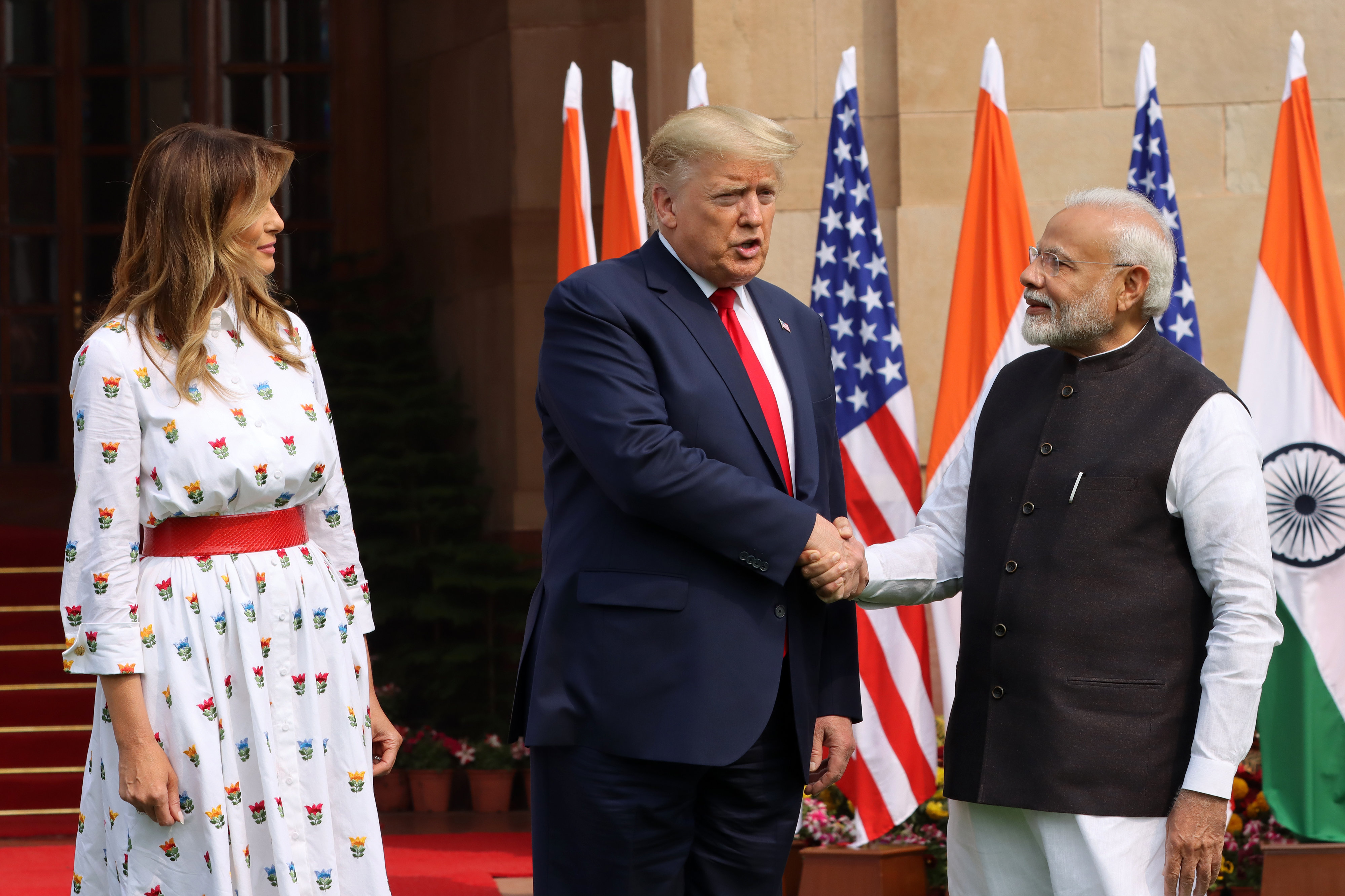 India BEGS Trump to sell out more US workers